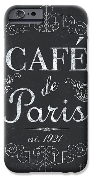 Le Petite Bistro 3 IPhone 6s Case by Debbie DeWitt