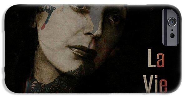 Digital Image iPhone 6s Case - Le Vie En Rose  by Paul Lovering