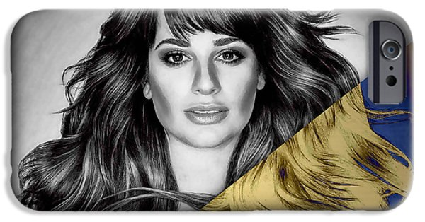 Lea Michele Collection IPhone 6s Case by Marvin Blaine