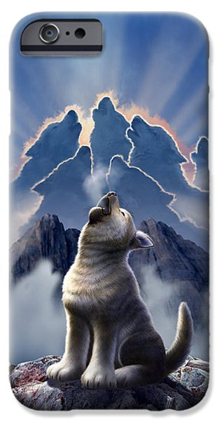 Mountain iPhone 6s Case - Leader Of The Pack by Jerry LoFaro