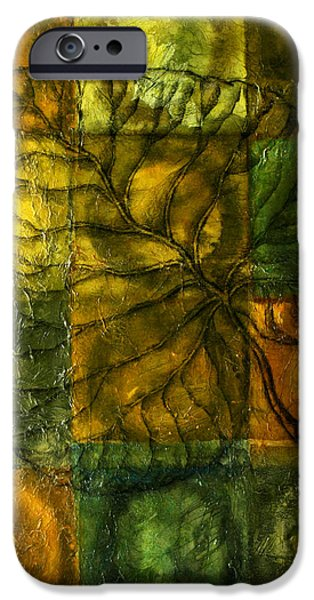 Leaf Whisper IPhone Case by Leon Zernitsky