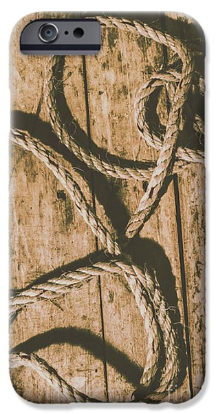 IPhone 6s Case featuring the photograph Learning The Ropes by Jorgo Photography - Wall Art Gallery