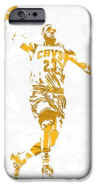 Lebron James Cleveland Cavaliers Pixel Art 12 IPhone 6s Case