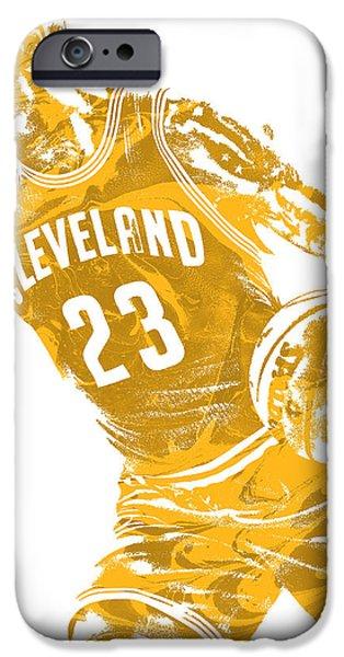 Lebron James Cleveland Cavaliers Pixel Art 20 IPhone 6s Case