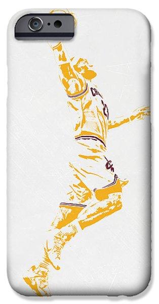 Lebron James Cleveland Cavaliers Pixel Art IPhone 6s Case