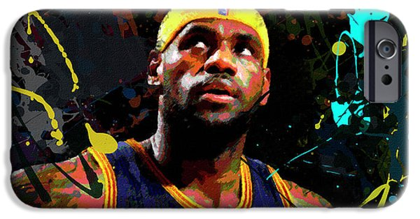 Lebron IPhone 6s Case by Richard Day