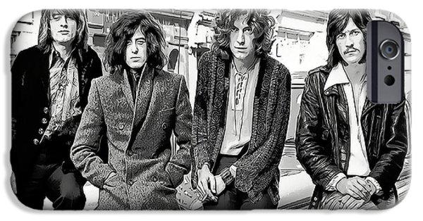 Robert Plant iPhone 6s Case - Led Zeppelin by Daniel Hagerman