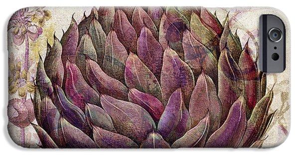 Legumes Francais Artichoke IPhone 6s Case by Mindy Sommers