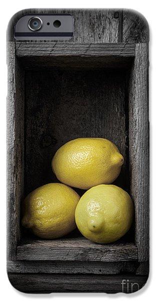 Lemons Still Life IPhone 6s Case by Edward Fielding