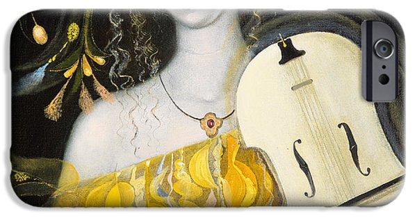 Violin iPhone 6s Case - Leo by Annael Anelia Pavlova