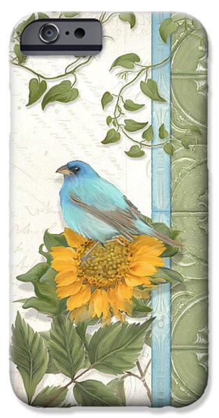 Les Magnifiques Fleurs Iv - Secret Garden IPhone 6s Case by Audrey Jeanne Roberts