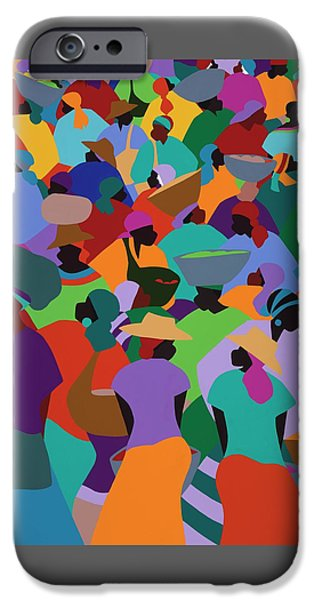 Les Palmes Market Haiti IPhone 6s Case