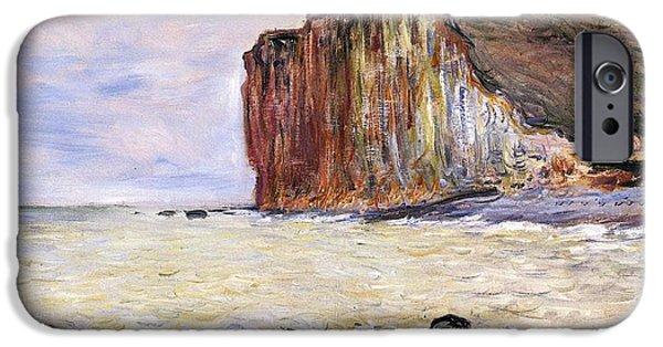 Les Petites Dalles IPhone Case by Claude Monet