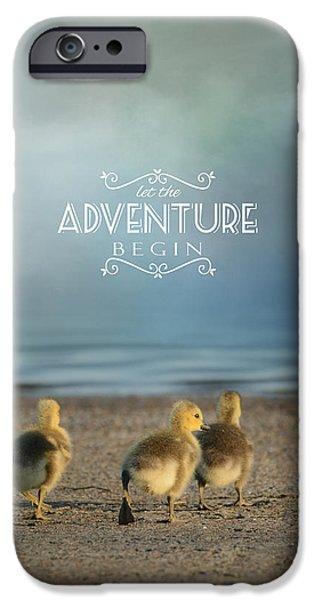Gosling iPhone 6s Case - Let The Adventure Begin by Jai Johnson