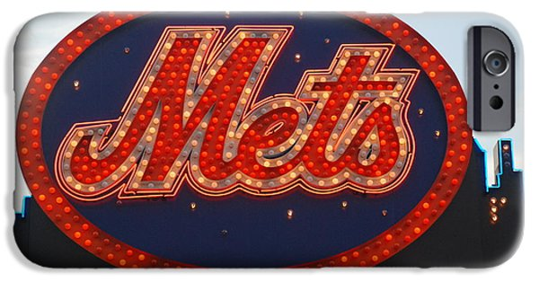 New York Mets iPhone 6s Case - Lets Go Mets by Richard Bryce and Family