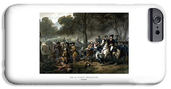 George Washington iPhone 6s Case - Life Of George Washington - The Soldier by War Is Hell Store