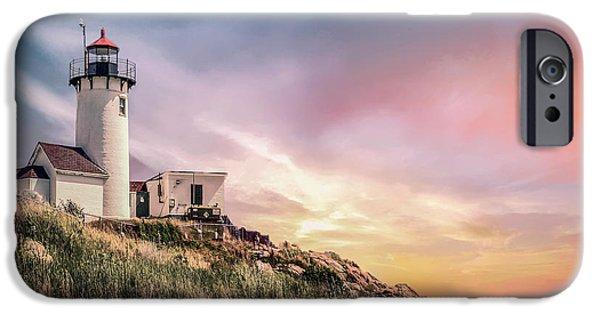New England Coast iPhone 6s Case - Light My Way by Evelina Kremsdorf