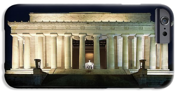Lincoln Memorial At Twilight IPhone 6s Case by Andrew Soundarajan