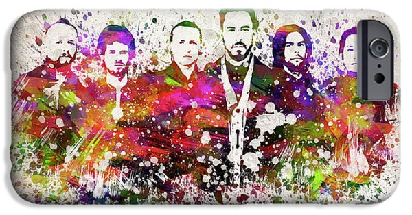 Linkin Park In Color IPhone 6s Case