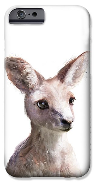 Kangaroo iPhone 6s Case - Little Kangaroo by Amy Hamilton