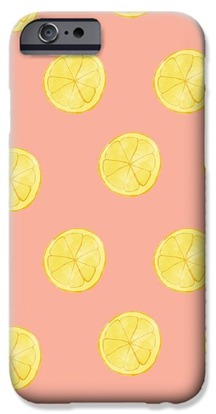 Little Lemons IPhone 6s Case by Allyson Johnson