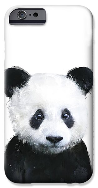 Animals iPhone 6s Case - Little Panda by Amy Hamilton