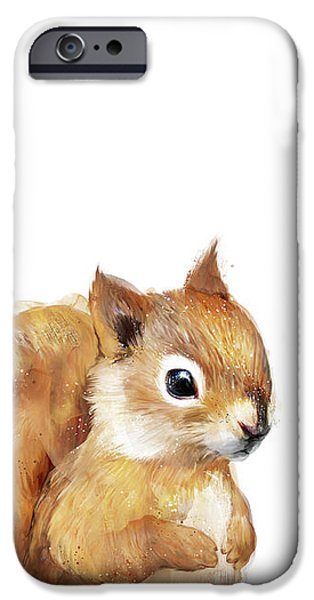 Squirrel iPhone 6s Case - Little Squirrel by Amy Hamilton