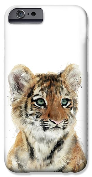 Little Tiger IPhone 6s Case by Amy Hamilton