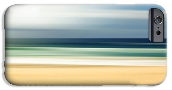 Contemporary iPhone 6s Case - Lone Beach by Az Jackson