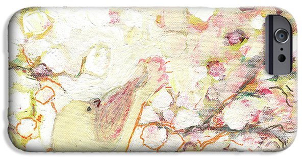 Contemporary iPhone 6s Case - Looking For Love by Jennifer Lommers
