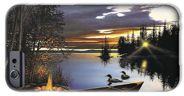 Loon iPhone 6s Case - Loon Lake by Anthony J Padgett
