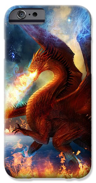 Magician iPhone 6s Case - Lord Of The Celestial Dragons by Philip Straub