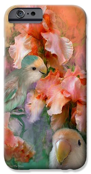 Love Among The Irises IPhone 6s Case by Carol Cavalaris
