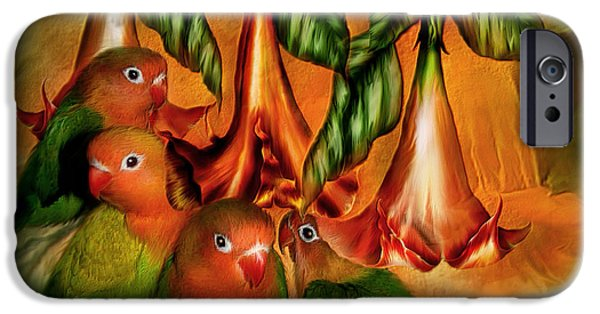 Love Among The Trumpets IPhone 6s Case by Carol Cavalaris