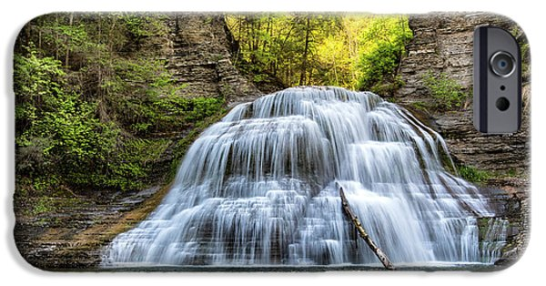 New Leaf iPhone 6s Case - Lower Falls At Treman State Park by Stephen Stookey
