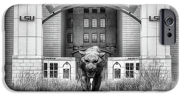 IPhone 6s Case featuring the photograph Lsu Tiger Stadium by JC Findley