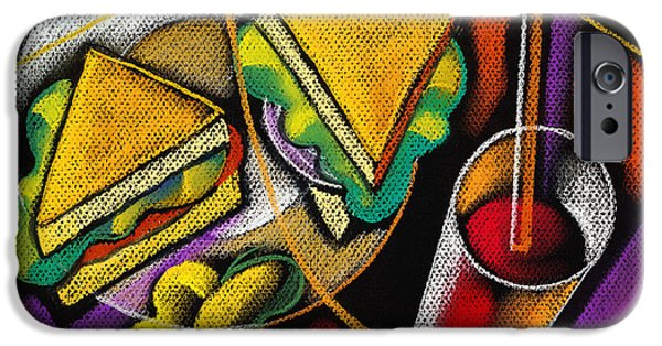 Lunch IPhone 6s Case by Leon Zernitsky