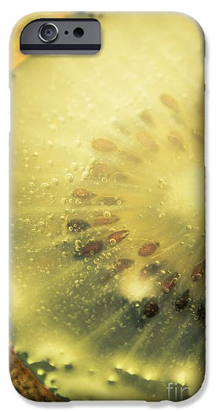 Kiwi iPhone 6s Case - Macro Shot Of Submerged Kiwi Fruit by Jorgo Photography - Wall Art Gallery