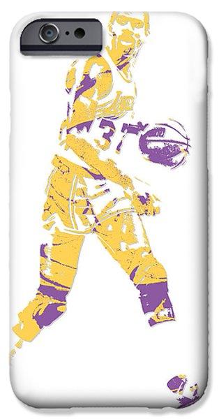 Magic Johnson Los Angeles Lakers Pixel Art 5 IPhone 6s Case