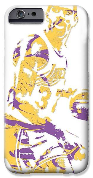 Magic Johnson Los Angeles Lakers Pixel Art 6 IPhone 6s Case