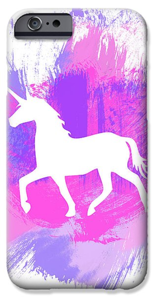 Magician iPhone 6s Case - Magic Unicorn 1- Art By Linda Woods by Linda Woods