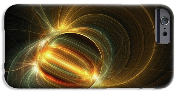 Fractal iPhone 6s Case - Magnetic Field by Scott Norris