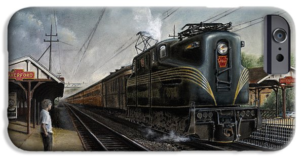 Train iPhone 6s Case - Mainline Memories by David Mittner