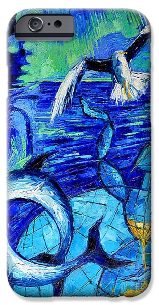 Majestic Bleu IPhone 6s Case by Mona Edulesco
