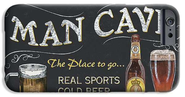 Man Cave Chalkboard Sign IPhone 6s Case