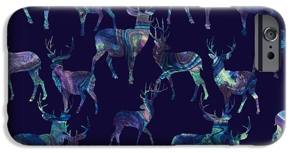 Marble Deer IPhone 6s Case by Varpu Kronholm