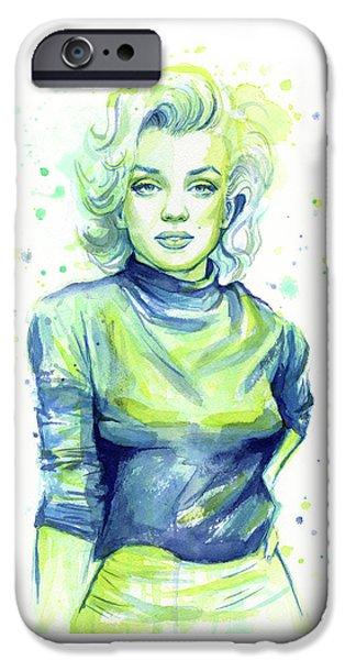 Marilyn Monroe IPhone 6s Case by Olga Shvartsur