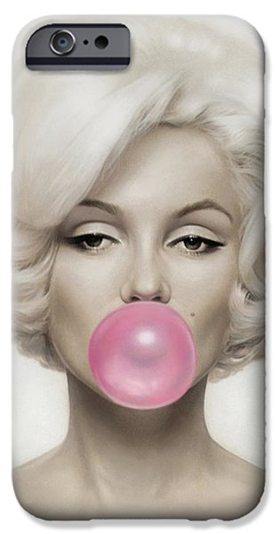 Marilyn Monroe IPhone 6s Case by Vitor Costa