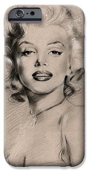 Marilyn Monroe IPhone 6s Case by Ylli Haruni