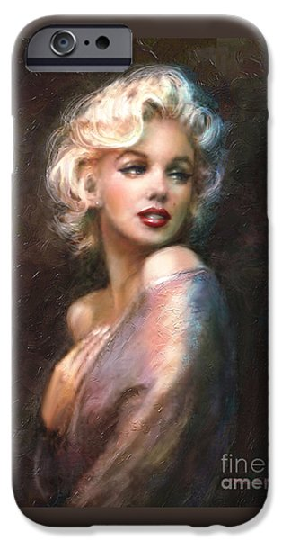 Marilyn Romantic Ww 1 IPhone 6s Case by Theo Danella